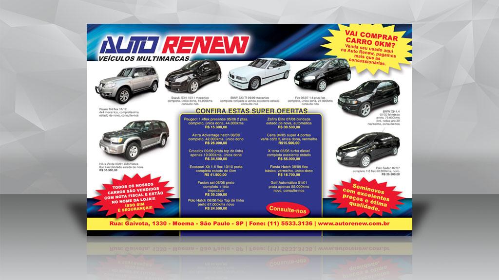 Anúncio Auto Revew