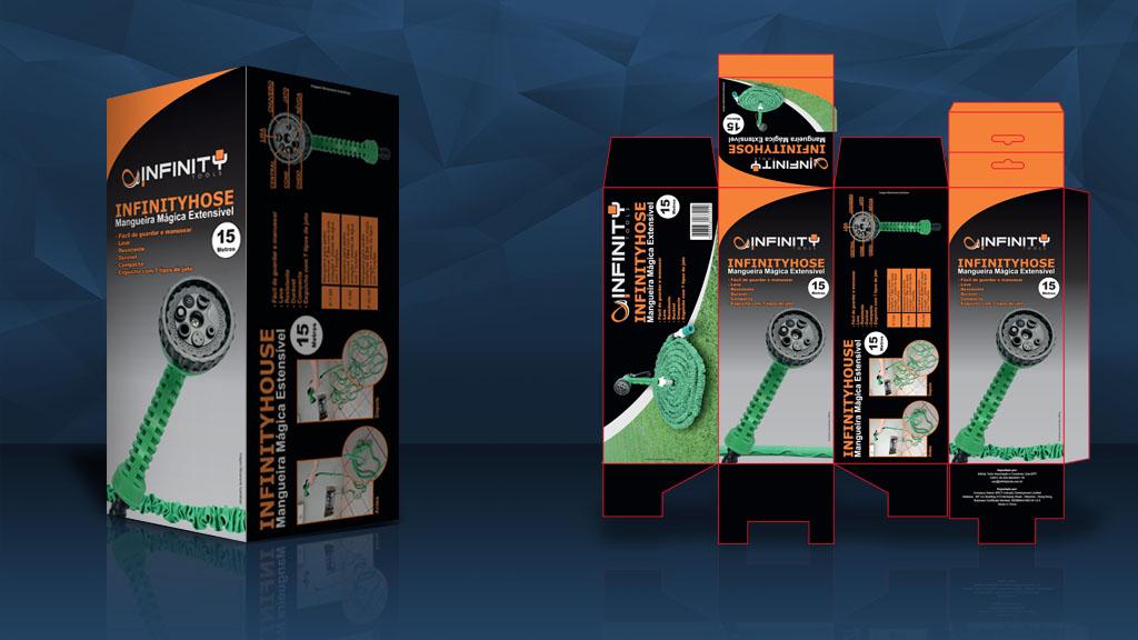 Caixa para Mangueira Infinity Tools