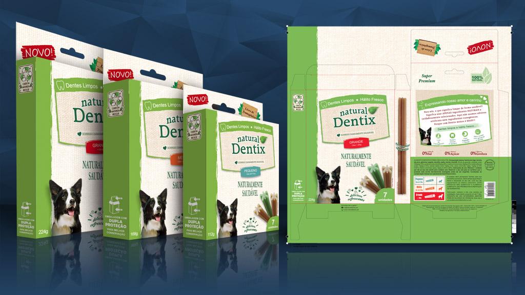 Embalagem - Caixas - Dentix - Arte - Design